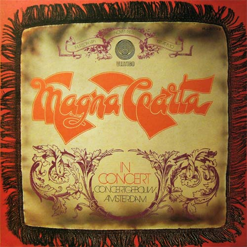 Magna Carta - In Concert (Japanese lp)