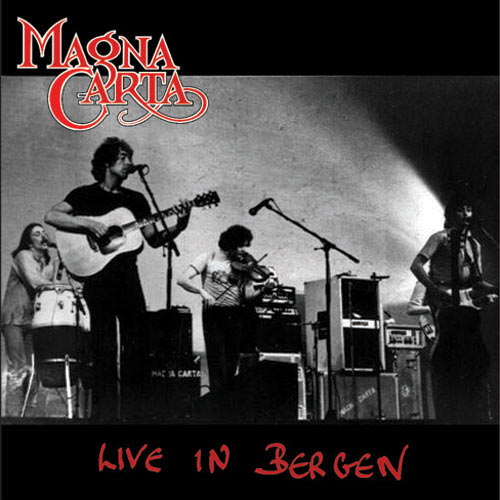 Magna Carta - Live in Bergen (the cd cover)