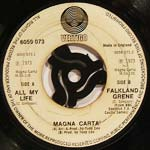Magna Carta - All my life / Falkland grene
